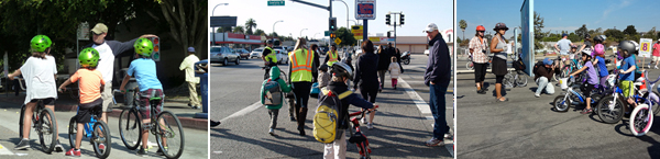 Bike Safety Lessons, Walking School Buses, Walk 'n Roll Festivals and more!
