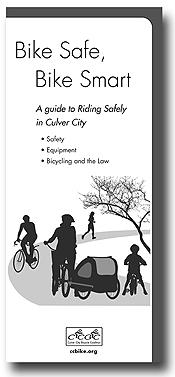 over of bike safety brochure, Bike Safe, Bike Smart