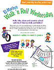 Walk n Ro Wednesday flier