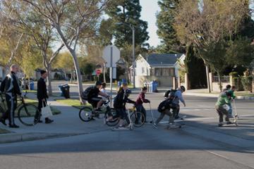 Rolling Bike Train