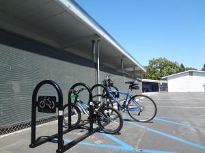 New Bike Rack for El Marino