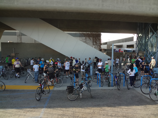 Bike Carmegeddon: Culver City Expo Station