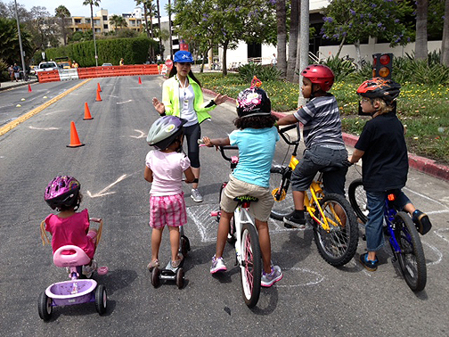 Bike Safety Instruction