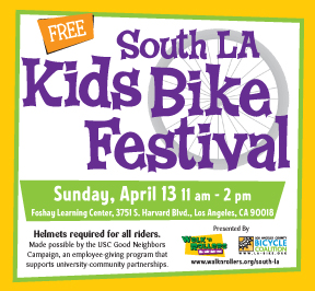 Kids Bike Festival, April 13