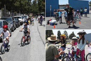 Walk 'n Roll Festivals feature bicycle safety instruction and on-street group rides
