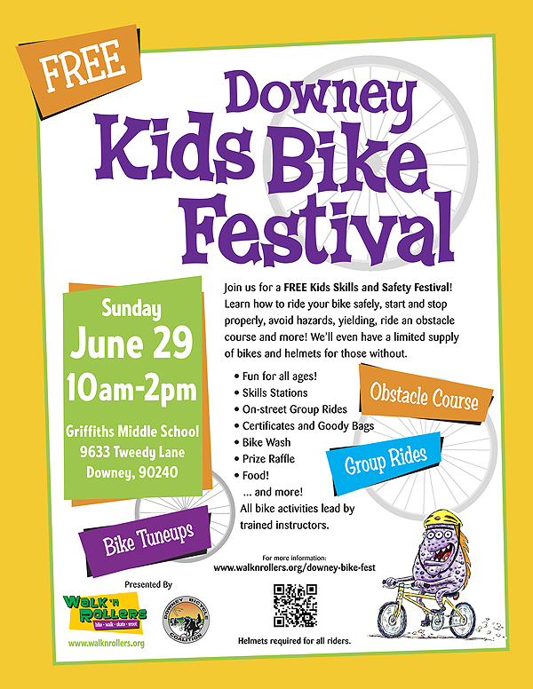 Downey Kids Bike Festival
