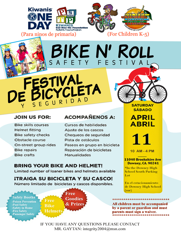 Downey Bike Flier
